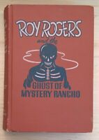 Vintage Hardback Roy Rogers and the Ghost of Mystery Rancho 1950 Tompkins Book