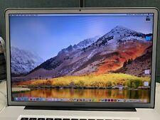 "Apple MacBook Pro 17"" i7 QUAD 2.3GHz-3.3GHz 8GB RAM 1TB HD *BONUS SOFTWARE*"