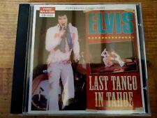 RARE ELVIS PRESLEY CD - LAST TANGO IN TAHOE - FORT BAXTER