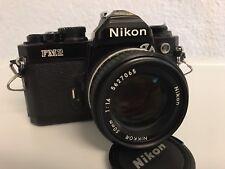 Nikon FM2 mit Nikon 50mm/1.4