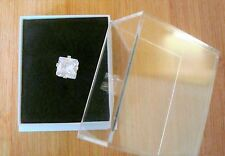 Mens Square Diamante Ice 5mm x 5mm Ice Bling Earring Earing Ear Stud