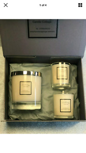 Handmade, highly scented Trio of Luxury T Ford Soy Wax Candle Giftset