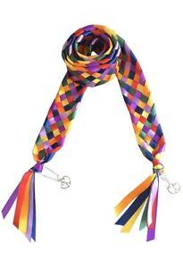 Handfasting Cord / Binding / Wedding 7 Strand Braid Ribbon and With Charms