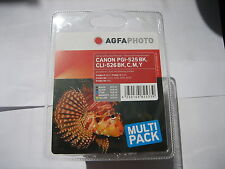 Agfa photo canon 5-set pgi-525 BK + cli-526 C y M BK PIXMA mg 5150 5250 6150