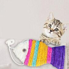 New Fish Type Sisal Cat Scratch Board Pet Bite Toy Cat Sisal Toy Pet Supplies