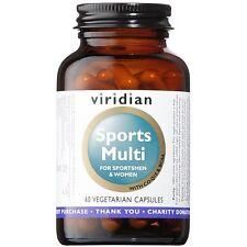 Viridian Sports Multi For Sportsmen & Women 60 Vegetarian Capsules