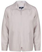 Mens Summer Light Weight Jacket Golf Style Sizes S- 5XL Flap Collars Comfortable