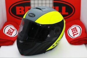 Bell SRT Modular Presence Matte/Gloss Grey Hi-Viz Yellow (Limited Edition)