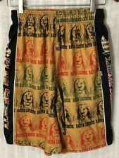 Flow Society Men's Rasta Lacrosse Authentic Lacrosse Gear Lax Shorts~Small S