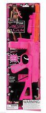 Pink Tommy Gun Toy Plastic 20 Inch Gangster Toy Machine Gun Costume Accessory