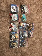 Huge Lot Of Lego's 12 Sets Knights Kingdom Aqua Raiders Fireman Plus