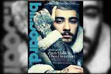 Billboard Magazine Zayn Malik ONE DIRECTION Carly Simon Demi Lovato Charlie Puth