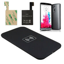 Qi Wireless Charger Charging Pad + Receiver Sticker Support NFC for G3 K14A