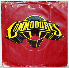 "7"" Vinyl COMMODORES - Heroes"