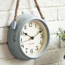 Nordic Modern Minimalist Wall Clock Living Room Metal Rope Hanging Quartz Clocks