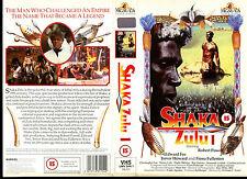 Shaka Zulu 1 - Robert Powell - Used Video Sleeve/Cover #16522