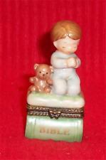 Enesco Boy Trinket Box