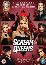 Scream Queens . The Complete Season 1 . Emma Roberts . 4 DVD . NEU . OVP