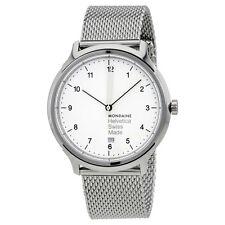Mondaine Helvetica No1 Regular White Dial Mens Watch MH1.R2210.SM