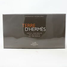 Hermes Terre D'hermes Collection 3-Pcs Gift Set  / New With Box