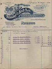 LEIPZIG, Rechnung 1918, Fabrik für Brauerei-, Bedarfsartikel Prössdorf  & Koch