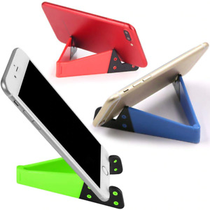 Universal Mobile Phone Stand Adjustable V Type Cell Phone Holder For Smartphones