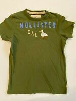 Hollister Short Sleeve Crew Patchwork Logo California T-Shirt Men's Medium