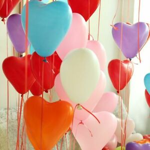 Gifts Party Supplies Wedding Decor Heart Shaped Latex Balloons Inflatable Toys