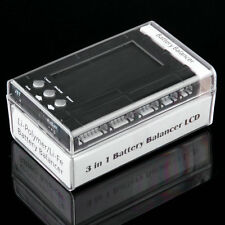 3 in 1 LCD Discharger Balancer Meter Tester for 2-6S lipo Li-Fe battery FY