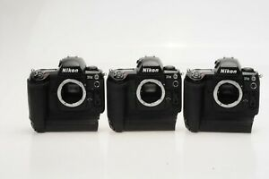 (LOT of 3) Nikon D1X 5.3MP Digital SLR Camera Body *No Battery or Charger* #CR