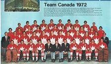 1973-74 Maple Leaf Gardens Calendar, 1972 Team Canada Photo, With Bobby Orr..