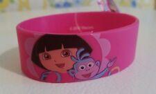 Nickelodeon Licensed Dora The Explorer Rubber Bracelet Wristband Super Cute New