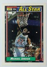 1992 92 TOPPS All-Star Michael Jordan #115, Chicago Bulls, HOF
