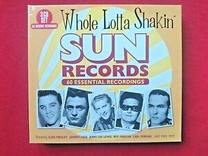 WHOLE LOTTA SHAKIN' - SUN RECORDS - ( 60 TRACKS ON 3 CD'S ) - 2018