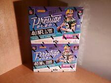 Panini Prestige Mega Box 40 NFL Trading Cards 2020