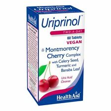Health Aid Uriprinol Montmorency Cherry Complex 60 Tablets New
