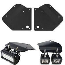 "Bumper Hidden Mounting Brackets For 3"" inch Cube LED Fog Light Fit 10- 14 F150"