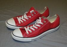 NWOB Converse All Stars SIZE MEN'S 12 Red