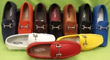 MEN GIOVANNI  DRESS SHOES LOAFER CASUAL ITALIAN SLIP-ON MEDIUM (D,M) SOLID M9523