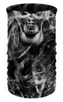 That's A Wrap Unisex Smoky Skulls Multi-Function Reversible Neck Tube Face Cover