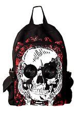Crâne haut-parleurs plug and play music bagpack par Banned apparel