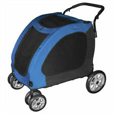 X-LARGE DOG STROLLER CARRIAGE JOGGER HOLDS UP TO 125 LBS FOLDS FLAT pet supplies