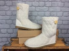 UGG AUSTRALIA LADIES UK 6.5 EU 39 OATMEAL MOUNTAIN QUILT KNITTED BOOTS UGGS