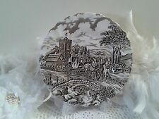 Vintage Myott Royal Mail plate by Staffordshire ware, England 1950s