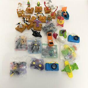 Vintage McDonalds Happy Meal Space Jam Muppet Gonzo Batman Hot Wheel Toys Lot 29
