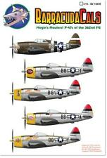 Barracuda Cals 1/72 P-47 Thunderbolts of the 362nd FG Mogin's Maulers BC72038