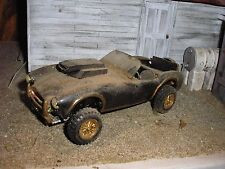 1/25 Vintage Custom Ford Cobra 427 Lifted 4x4 for junkyard diorama parts restore