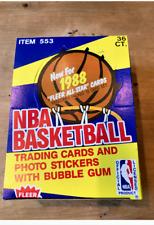 1988-89 Fleer Basketball Unopened Wax Box 36 Packs Jordan!!