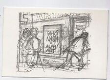 Carte postale Hergé. ALPH ART. Entrée de la Galerie Ramo Nash.  Carte espagnole