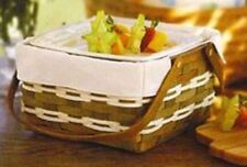 Longaberger Collector's Club J.W. Heritage basket liner in FLAX - 10 X 10 X 5.5